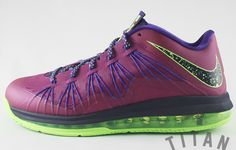 """Preview: Nike Air Max LeBron X Low """"Raspberry Red"""""""