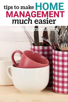 Home Management Tips to Make Your Life Easier – Home Maintenance Homemade Cleaning Products, House Cleaning Tips, Cleaning Hacks, Deep Cleaning, Cleaning Routines, Cleaning Checklist, Binder Organization, Organizing Ideas, Organized Mom