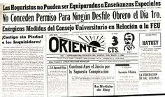 1ro DE MAYO.A un año del golpe militar de Fulgencio Batista, rota cualquier ilusión de democracia, en la prensa de 1953 se publica la decisión del gobierno de prohibir la conmemoración obrera