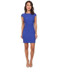 julia jordan Rio Knit-Stick Print Dress