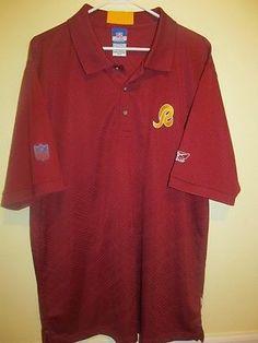 Washington Redskins Sideline polo shirt - Reebok Adult Large