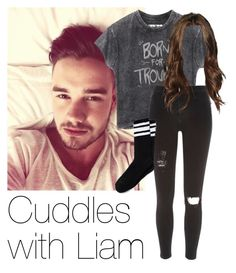 REQUESTED: Cuddles with Liam (Grunge style) by style-with-one-direction on Polyvore featuring polyvore fashion style River Island Payne OneDirection LiamPayne 1d liam payne one direction 1d
