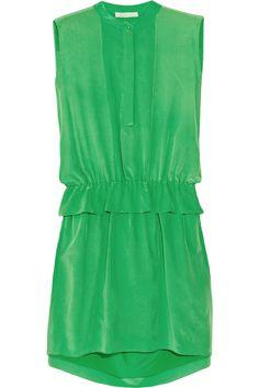 CHLOE Silk Crepe de Chine Dress