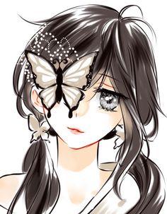 Beautiful Girl like Fashition Manga Girl, Chica Anime Manga, Anime Art Girl, Anime Girls, Kawaii Anime, Kawaii Girl, Arte Gcse, Anime Butterfly, Image Manga