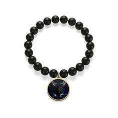 The onyx bracelet is expertly hand cast and polished in the USA and features vibrant, textured and glossy enamel-style coloring.: Sterling silver or gold plated pendant .: Two charm shapes .: Nickel and lead free Superstar, Star Wars, Spirit Wear, Christian Jewelry, Coin Pendant, Bracelets, 18k Gold, Fashion Accessories, Handmade Items