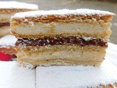 Baking Recipes, Cookie Recipes, My Recipes, Dessert Recipes, Desserts, Kolaci I Torte, Torte Cake, Croatian Recipes, Sweets