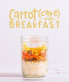 Mornings are hectic! Overnight oats take cooking breakfast out of the morning…
