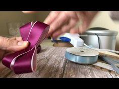 Laço boutique com dois laços simples embutidos - com fita numero 5 ( 22 mm ) 4 opções de tamanho - YouTube