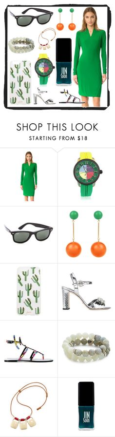 """""""FASHIONPLUS"""" by justinallison on Polyvore featuring Norma Kamali, Tendence, Ray-Ban, J.W. Anderson, Sonix, Dolce&Gabbana, Emilio Pucci, Lacey Ryan, Marni and JINsoon"""