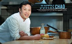 Justin Chao, founder of @LeBonGarcon, creator of gorgeous handmade caramels. XO