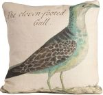 Cloven Footed Gull Pillow