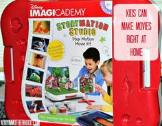 Disney's Imagicademy Storymation Studio Stop Motion Movie Kit Giveaway (Giveaway ends 12/11/2015)