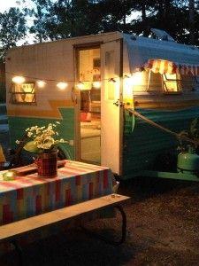 Cosy nights #glamping #camper #vintage