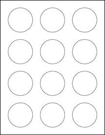 2 Inch Round Label Template 2 Circle Labels Ol2682 Printable Label Templates Round Labels Labels Printables Free Templates