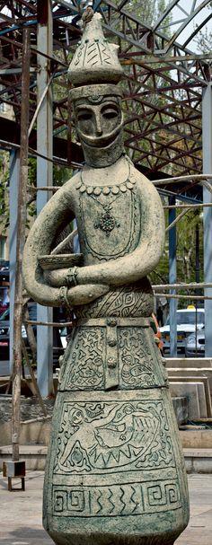 Statue in Yerevan, Armenia