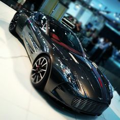 Lucky enough to see the Aston Martin One77 at the Australian Motor Show in Sydney Oct 27th 2012