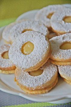 Nastoletnie Wypiekanie: Cytrynowe ciastka z Lemon Curd