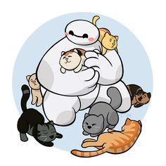 Cat Paradise by KingdomBlade on deviantART Big Hero 6 Max