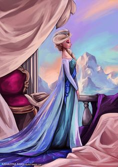 elsa fan art | Fan arts] La Reine des Neiges