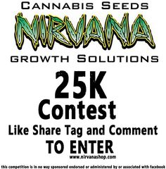 #free #cannabis #marijuana #seeds #competition #giveaway at https://www.facebook.com/nirvana.seedbank/