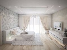 Designstudio Design Studio Ecke Odessa Ukraine Interieur Wohnung Haus K Trendy Bedroom, Modern Bedroom, Bedroom Romantic, Dream Rooms, Dream Bedroom, Bedroom Bed, Bedroom Decor, Bedroom Ideas, Master Bedroom