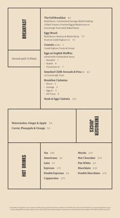 My fav layout for the menu/brochure Layout Design, Gfx Design, Book Design, Restaurant Identity, Restaurant Menu Design, Food Menu Design, Restaurant Restaurant, Typography Layout, Lettering