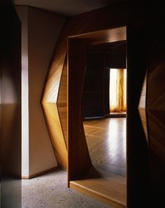The threshold to the central 'yurt' room of House A, with its 'synaesthetic ranges of patina, hue, timbre, sheen and lustre'.
