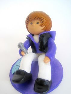 Justin Bieber Cake Topper by Enchanted Sweet Box, via Flickr