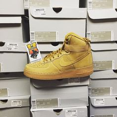 [in stock] Nike Air Force 1 High flaxSize: 4-7Price: $114.95 ShippedSize: 8-13Price: $174.95 shipped Website: HotnessFeet.Com #HotnessFeet @hotnessfeetreviews by postandsell #SoleInsider