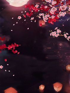 Gothic Wallpaper, Scenery Wallpaper, Galaxy Wallpaper, Nature Wallpaper, Wallpaper Backgrounds, Aesthetic Backgrounds, Aesthetic Wallpapers, Chinese Background, Aesthetic Japan