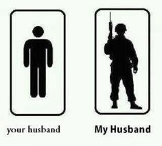 I'm a proud military wife :)