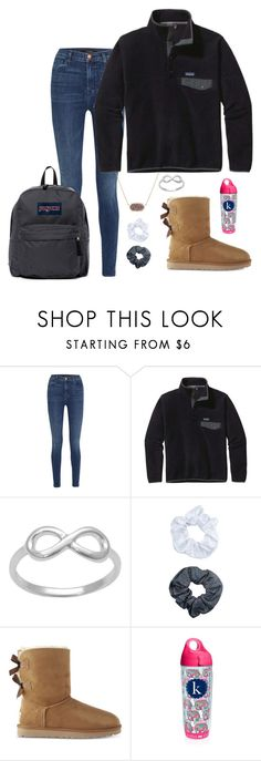 """..............................."" by nbrooke1009 on Polyvore featuring J Brand, Patagonia, Kendra Scott, Accessorize, UGG, Tervis and JanSport"