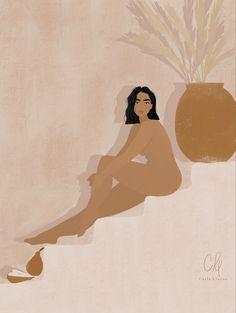 Woman Illustration, Digital Illustration, Poster S, Wow Art, Grafik Design, Female Art, Art Inspo, Art Girl, Line Art