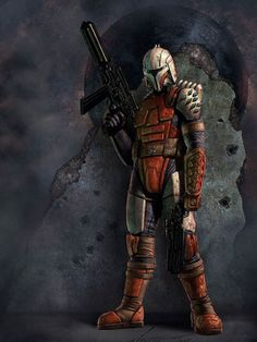 Rohlan Dyre was a brave Mandalorian warrior who wondered about the reasons which had led his people to trigger the Mandalorian wars.#mandalorians #star #wars