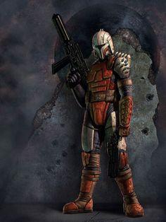 Rohlan Dyre était un valeureux guerrier mandalorien qui s'interrogea sur les raisons qui avaient conduits son peuple à déclencher les Guerres Mandaloriennes.