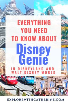 Disney Genie is a new addition coming in Fall 2021 to Walt Disney World and Disneyland. What is it? How do you use it? And what does it cost? #waltdisneyworld #disneyland #disneygenie #disneyplanning #disneyblogger #disney #wdw #dlr #disneyworld #disneyvacation #travelagent Disney World Planning, Disney World Trip, Disney Vacations, Disney California, California Vacation, Disney Planner, Disney Travel Agents, Disney Tips, Disney Cruise Line