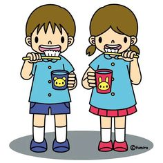 We brush our teeth together. Health Activities, Activities For Kids, Kindergarten, Painting For Kids, Pre School, Clipart, Diy For Kids, Cute Pictures, Illustrations