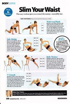 waist slimming workout
