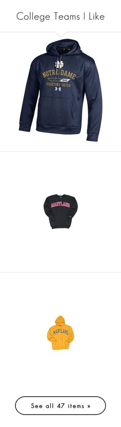 """College Teams I Like"" by madelyn2803 ❤ liked on Polyvore featuring men's fashion, men's clothing, men's hoodies, multicolor, mens hooded sweatshirts, under armour mens hoodies, mens hoodie, mens hoodies, mens sweatshirts and hoodies and tops"