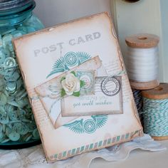 Love the colours and composition on this card by Betsey Veldman.
