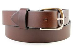 ef76ae926fe Best Bridle Brown Classic Men s Leather Belt Full Grain Hand Made USA 1.25  and 1.5 Inch