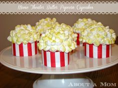 Cute!  The perfect sweet for a movie night!
