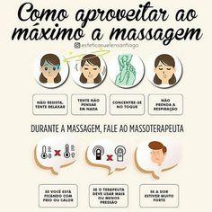 E o dia começa com essa super dica de como aproveitar ao máximo sua massagem e sair com o corpo e a mente renovada 💆💫 Agende sua sessão! 📆…