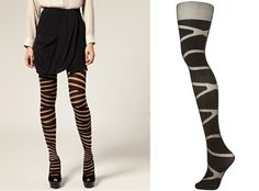 Funky!  Wolford Bandage Tights