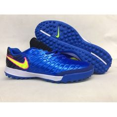 premium selection eb181 1b4b0 Nike Tiempo Legend VII TF Mens Soccer Boots Blue Yellow White