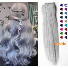 Balayage Dip Dye 8a Indian Remy Ombre Human Halo Hair Extensions Flip... ($85) ❤ liked on Polyvore featuring bath & beauty, black, hair care and hair extensions
