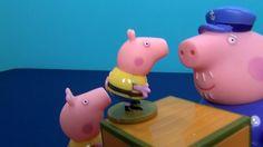 Peppa Pig Español. Peppa, abuelo Pig y George ahorran pequeño tiburón. P...