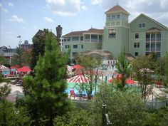 Disney's Saratoga Springs Resort Grandstand