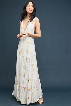 4e7d9732d664f Slide View  1  Josephine Wrapped Maxi Dress Floral Maxi Dress