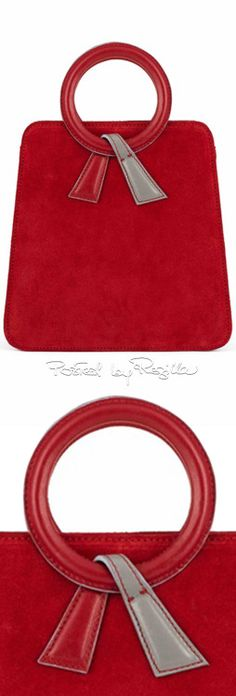 like the handle attachment detail on this. Regilla ⚜ Una Fiorentina in California Tote Handbags, Leather Handbags, Leather Bag, My Bags, Purses And Bags, Couture Cuir, Diy Handbag, Look Vintage, Leather Projects